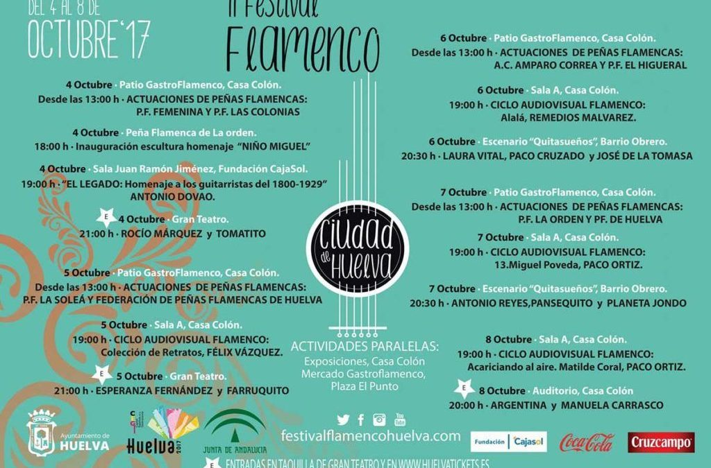 En el Festival de Huelva estará «El Legado»