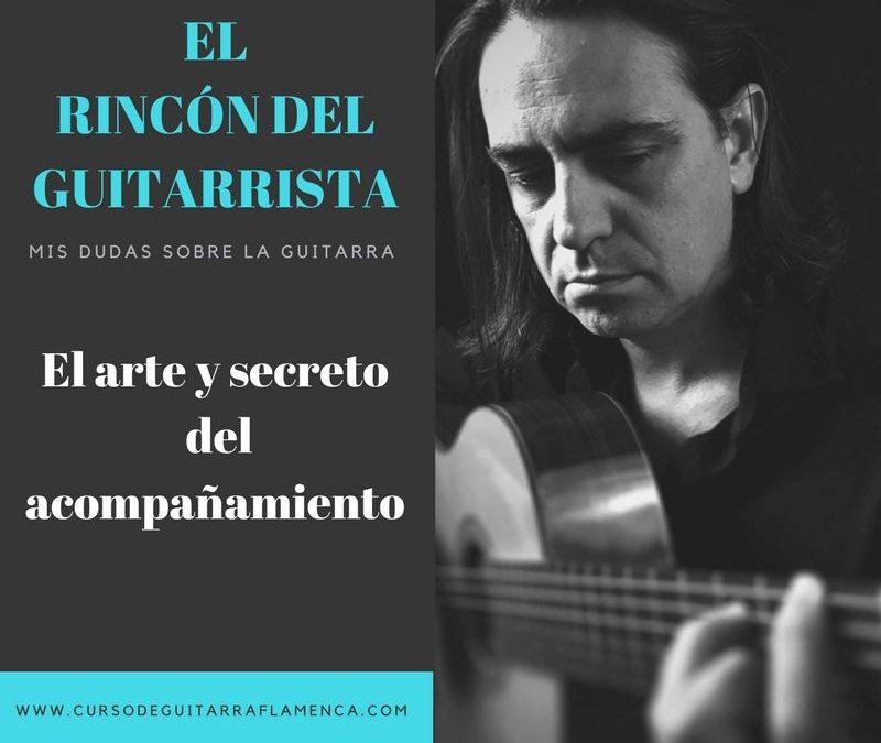 EL ARTE Y SECRETO DEL ACOMPAÑAMIENTO DE LA GUITARRA